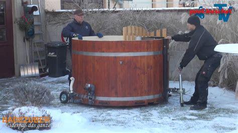 tub selber bauen badezuber badebottich hottub badetopf badefass mieten