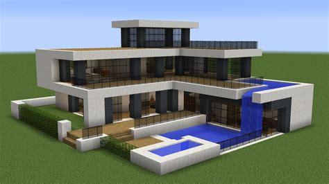 Modernes Haus Minecraft Klein by Minecraft How To Build A Modern House 21