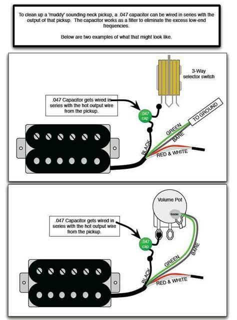 Capacitor Wiring Diagram For Guitar by 75 Best Images About Guitar Wiring Diagrams On