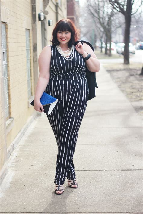 jumpsuit with blazer plus size jumpsuit and faux leather blazer from fashion to