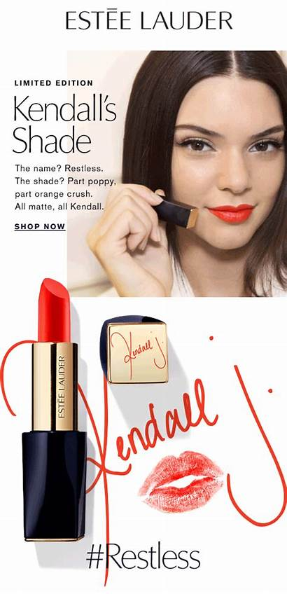 Kendall Lipstick Jenner Limited Lauder Edition Milled