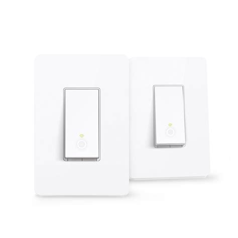 tp link smart wi fi light switch tp link smart wi fi light switch 2 pack hs200 2pk the