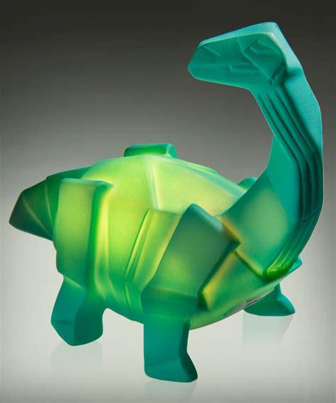 light up dinosaur usb dino l light up dinosaur styled like origami