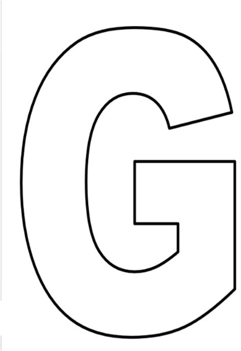 resultado de imagem para molde de letra g letters alphabet letter templates lettering y