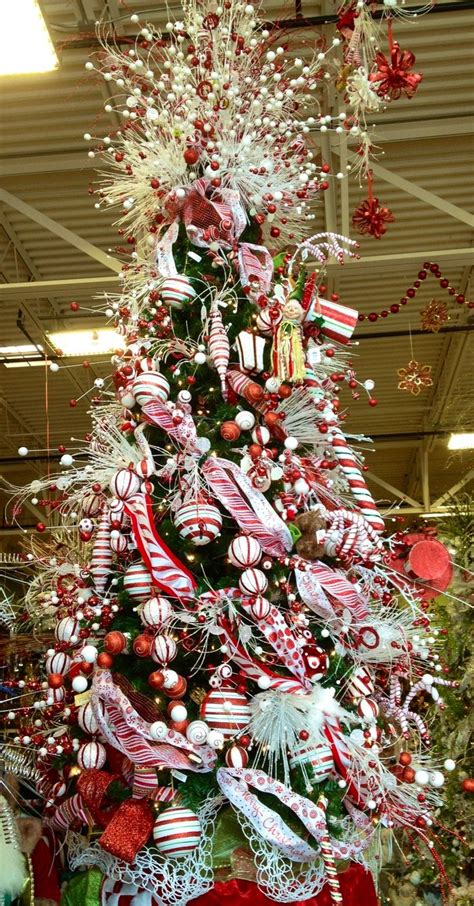 candy cane christmas tree merry little christmas