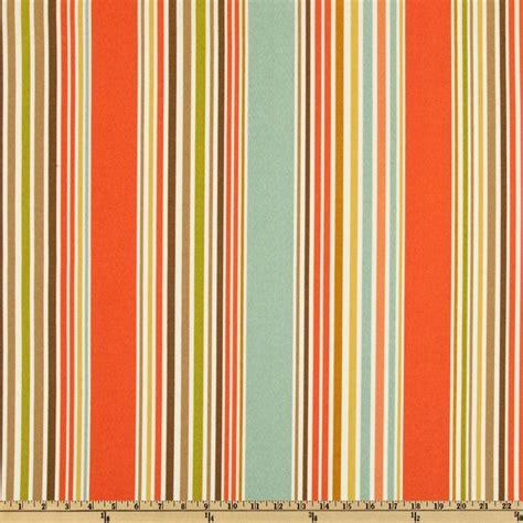 P Kaufmann Indooroutdoor Deck Chair Stripe Shellaqua