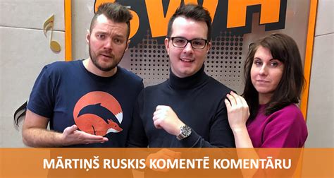 Komentē Komentāru - Mārtiņš Ruskis | Radio SWH
