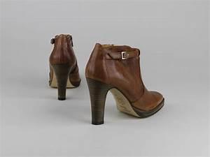 Chaussures Atelier Voisin / PERDRIS / Boots Cognac Cuir Lisse