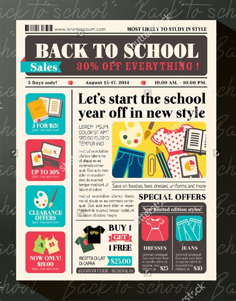High School Newspaper Template by Newspaper Template 16 Free Word Pdf Documents