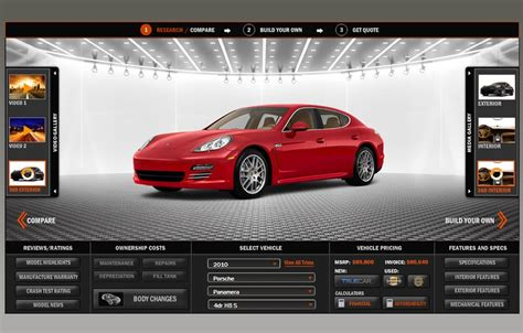 Build A Car Website by Pscars Launches The Most Advanced Automotive Tool