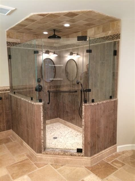 gorgeous spacious master bath remodel with walk in closet