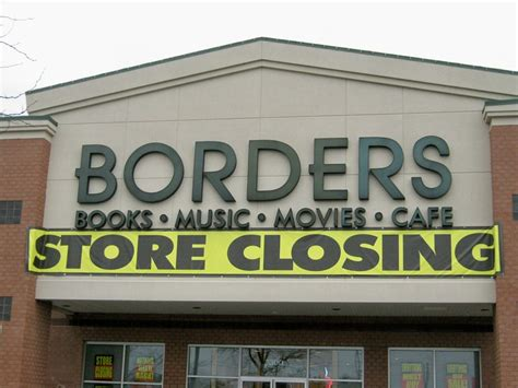 Does Borders Demise Signal the Death of Bookstores ...