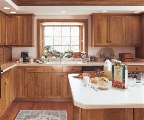 kitchen cabinets cherry finish the smooth simplicity of cherry shaker cabinets shows 5956
