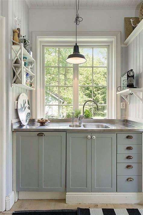 small kitchen design ideas 2014 انارات المطبخ الصغير جدا بنجفة دائرية المرسال