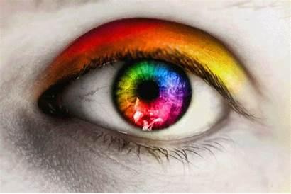 Eye Colorful Deviantart Animated Eyes Rainbow Glitter