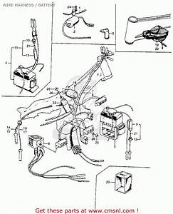 1969 Honda Trail 90 Wiring Diagram