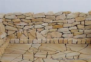 Steine Zum Mauern Preise : sandstein bruchsteine gartensteine trockenmauer in karben handwerk hausbau garten ~ Orissabook.com Haus und Dekorationen