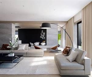 40 Stunning Modern Living Room Designs - Bored Art