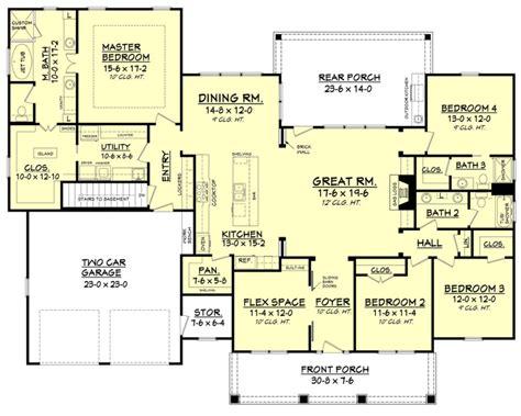 sunroom floor plans best ranch style floor plans ideas house sun room and open