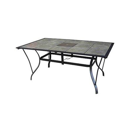tile top patio table courtyard creations tcs64ps patio collection