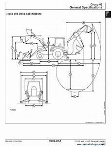 John Deere Backhoe Loaders 310se  315se Technical Manual