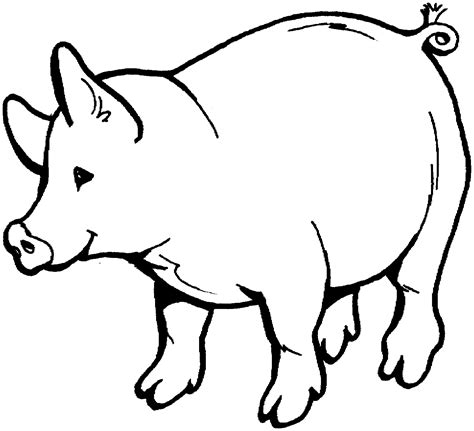 pig coloring pages  animal coloring books horse coloring pages cartoon coloring pages