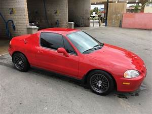 1993 Honda Civic Del Sol Si Coupe    Low Miles  Clean