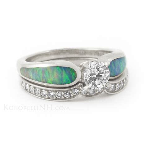 Australian Opal Engagement Rings  Jewelry. Black Gold Jewelry Wedding Rings. Catholic Engagement Rings. Color Wedding Wedding Rings. Outdoorsman Wedding Rings. Vintage Silver Rings. Side Accent Engagement Rings. Text Wedding Rings. Unc Rings