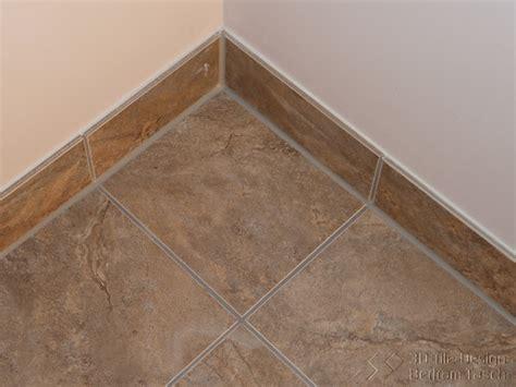 bathroom baseboard ideas caulked baseboard joints modern bathroom vancouver by 3d tile design bertram tasch