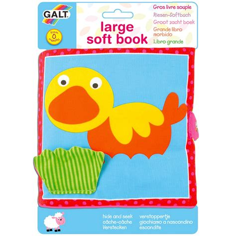 Hide And Seek Buch by Large Soft Book Hide And Seek Galt Toys