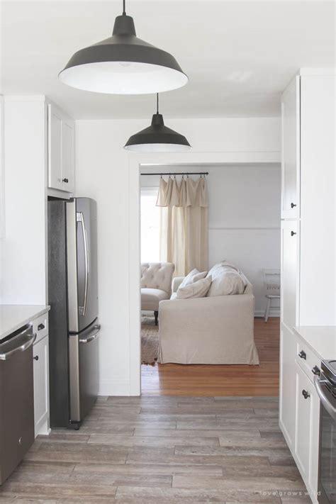 farmhouse kitchen floor ideas kitchen makeover flooring grows 7152