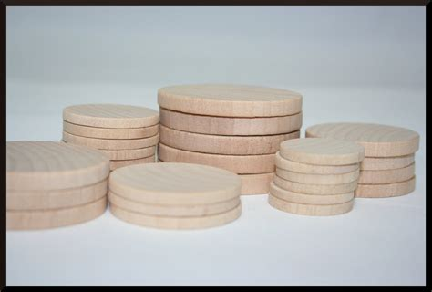 25 1 25 inch 31 75mm round wooden circles jewelry