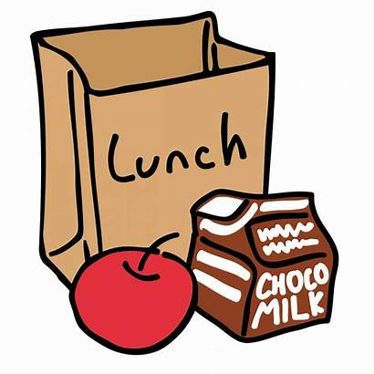 Lunch Clipart Drawing Break Transparent Bag Clip