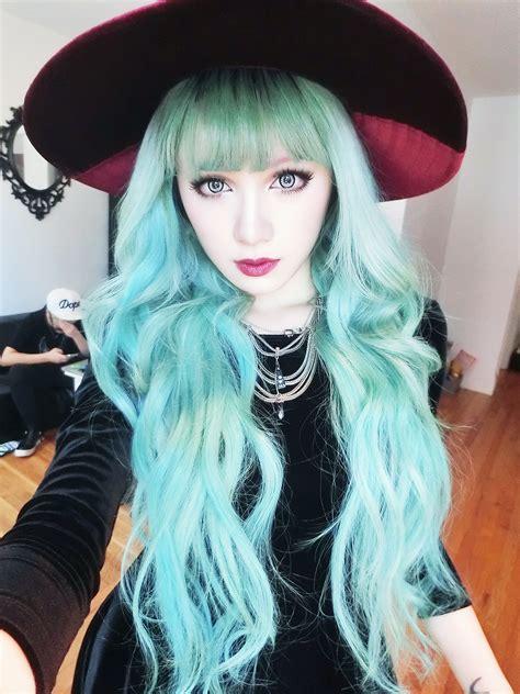 Pastel Turquoise Hair → Community