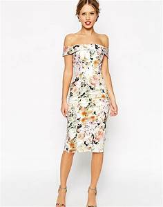 wedding guest dresses 2016 asos With floral dress wedding guest