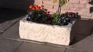 Bac à Fleurs : auge en pierre reconstitu e moul e bac fleurs mod le 14 youtube ~ Teatrodelosmanantiales.com Idées de Décoration