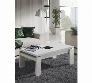 Petite Table Basse : petite table basse blanc laqu 19 id es de d coration int rieure french decor ~ Teatrodelosmanantiales.com Idées de Décoration
