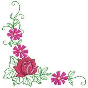 Flower Corner Border Designs