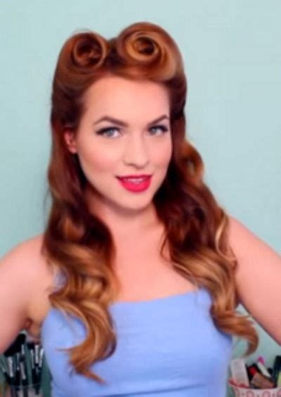 1950s Pin Up Hairstyles For Hair by Pin Up Hairstyles That You Ll Doing Yourself
