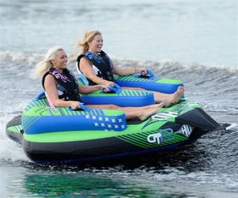 Ho Boat Tubes by Inflatable Towable 2 Person Water Boat Tow Tube Ho Sports Gt 2