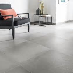 Carrelage Bricoman Gris by Carrelage Sol Et Mur Gris Ciment Effet B 233 Ton Time L 60 X L