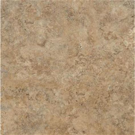 groutable vinyl floor tiles home depot armstrong ceraroma 16 in x 16 in caramel sand groutable