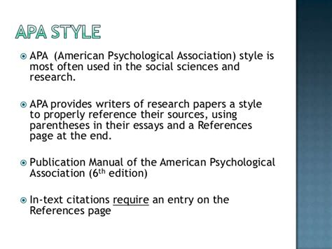 citing your sources apa