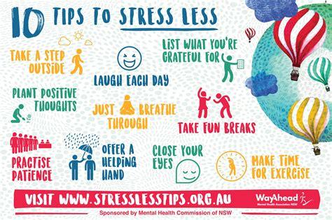 Stress Less Tips Wayahead