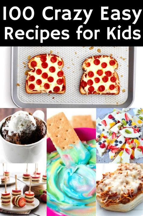 Easy Food Recipes for Kids to Make