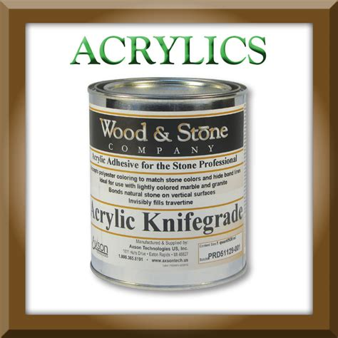 acrylic polyester epoxy glue for granite