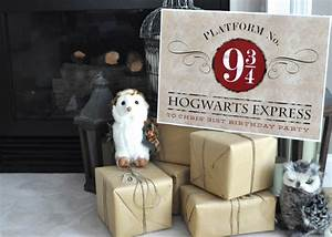 A Magical Harry Potter Birthday Party (for Kids and Adults