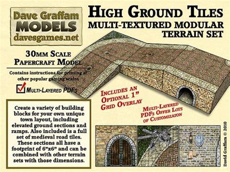 paizocom high ground tiles mmmm modular paper