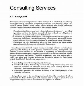 sample consultant proposal 9 documents in pdf word With consulting project plan template