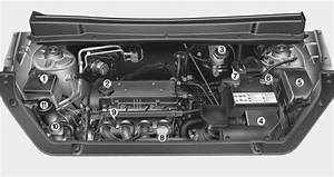 Engine Compartment - Your Vehicle At A Glance - Kia Soul Owners Manual - Kia Soul